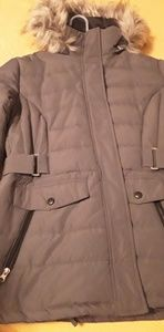 Free Country Womens Hooded Coat-Size Large